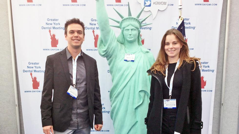Great NY Dental Meeting - Renato e Anna