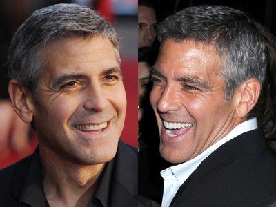 george clooney antes e depois